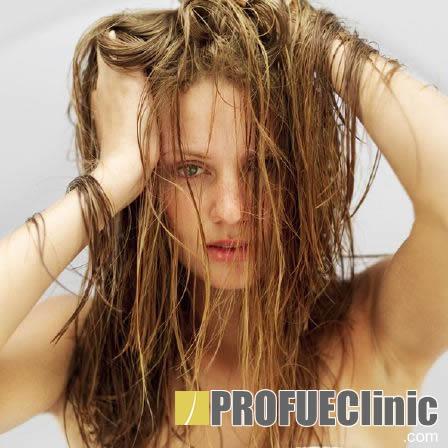 Ломка волос в домашних условиях